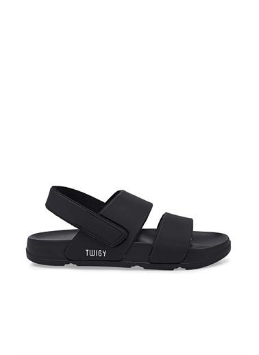 Twigy Spor Sandalet Siyah